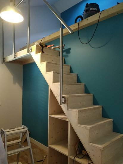Escalier dans Lyon